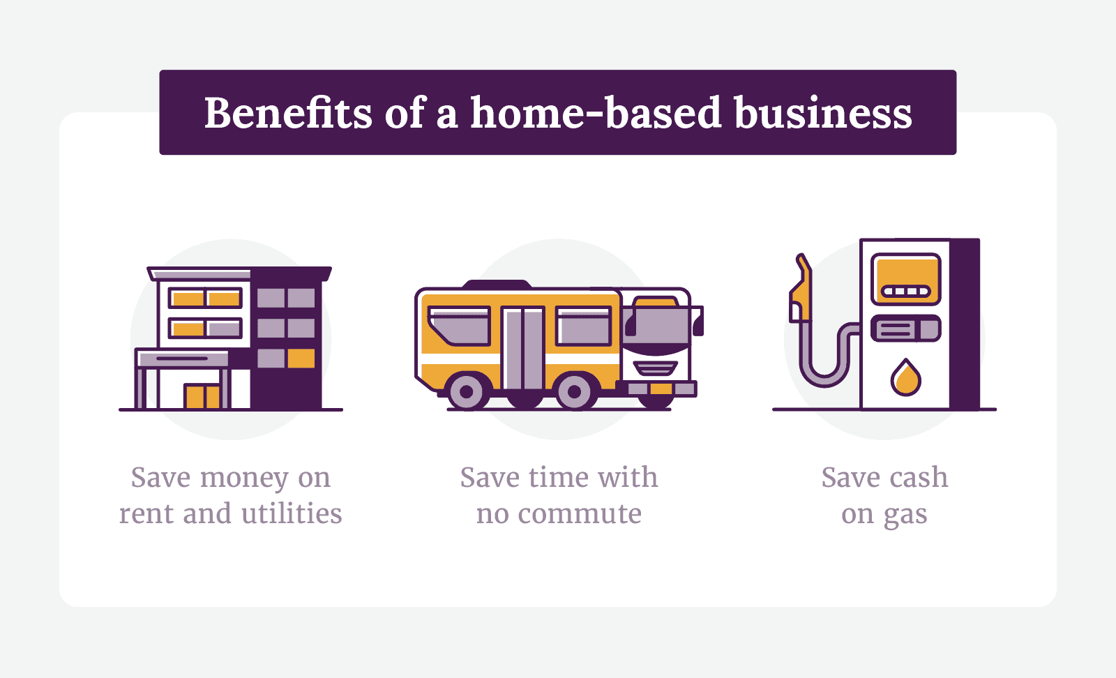 Benefits of a home-based business