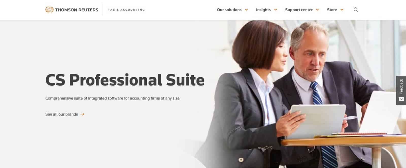 CS Professional Suite is a software suite designed for accounting and tax professionals