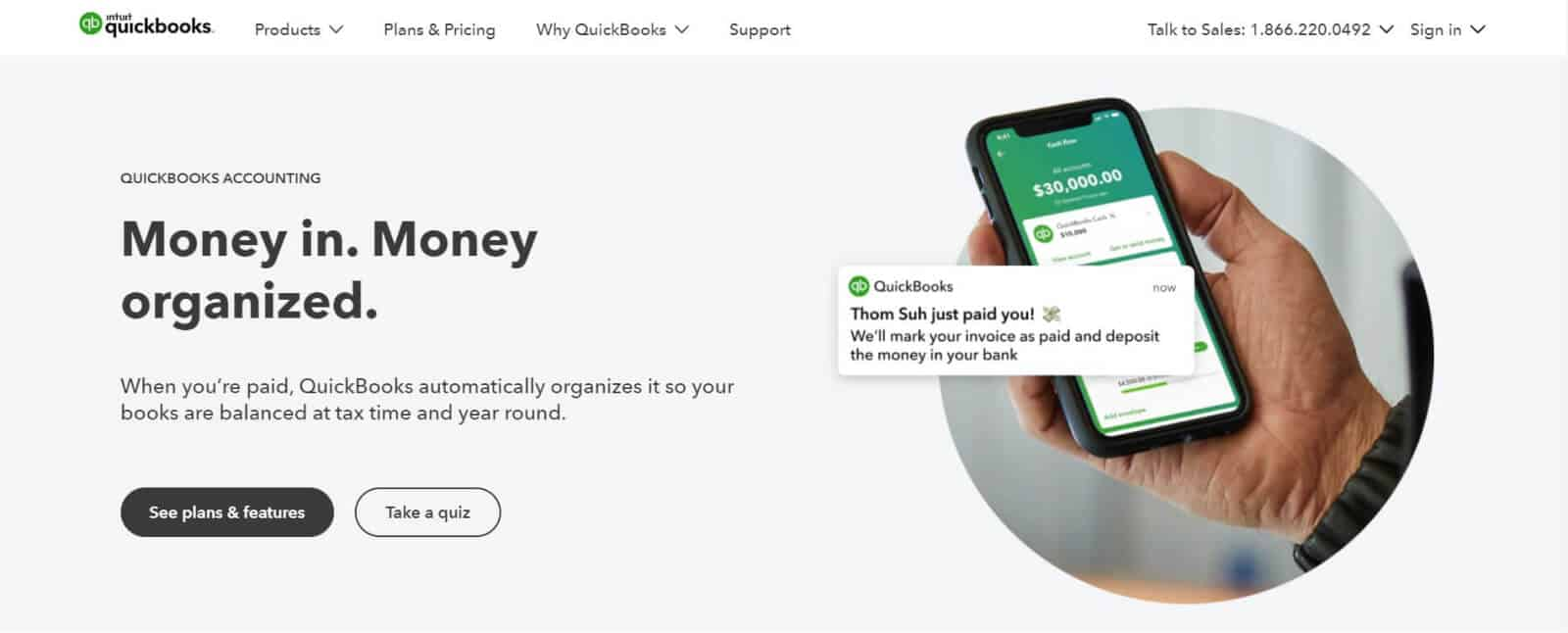 QuickBooks is one of the most popular accounting apps for small businesses