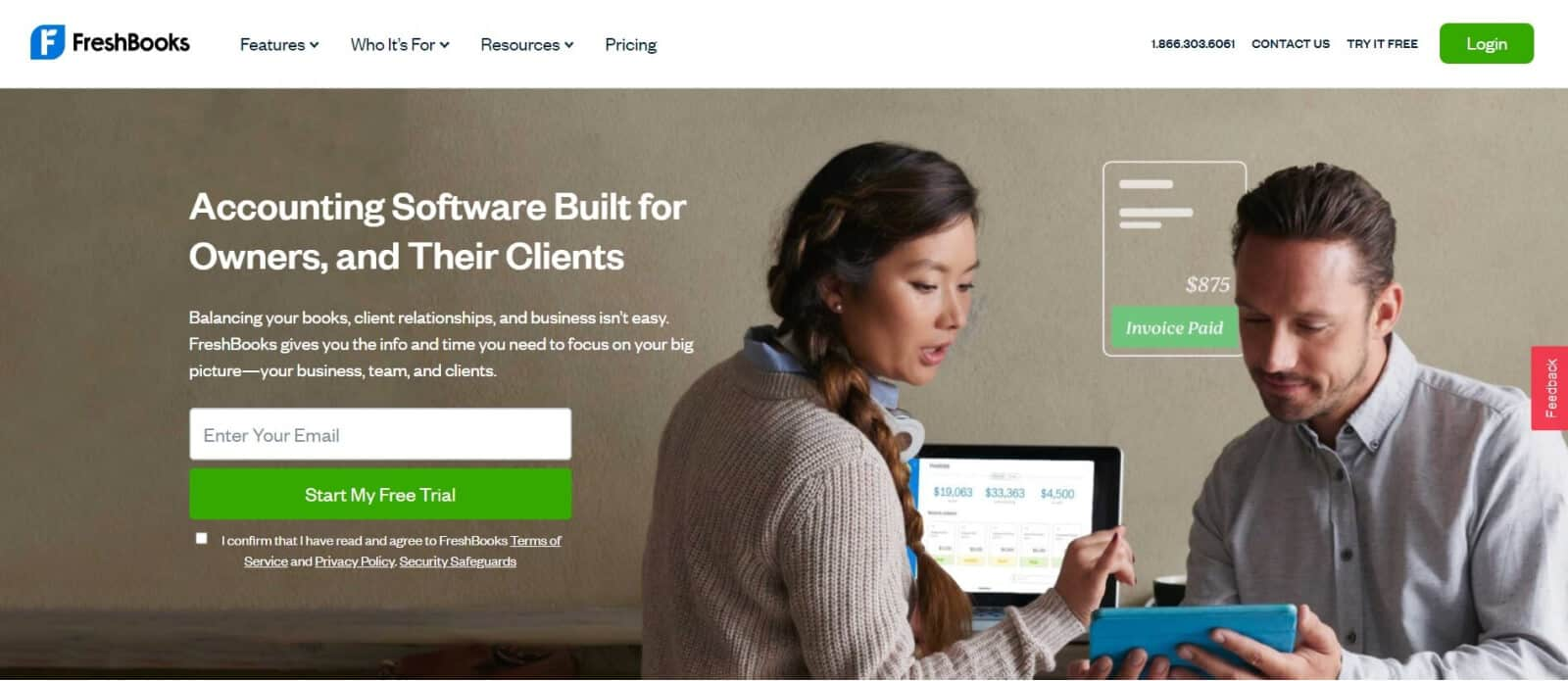 We believe that FreshBooks is the best bookkeeping software for small business owners who don't have any previous accounting experience