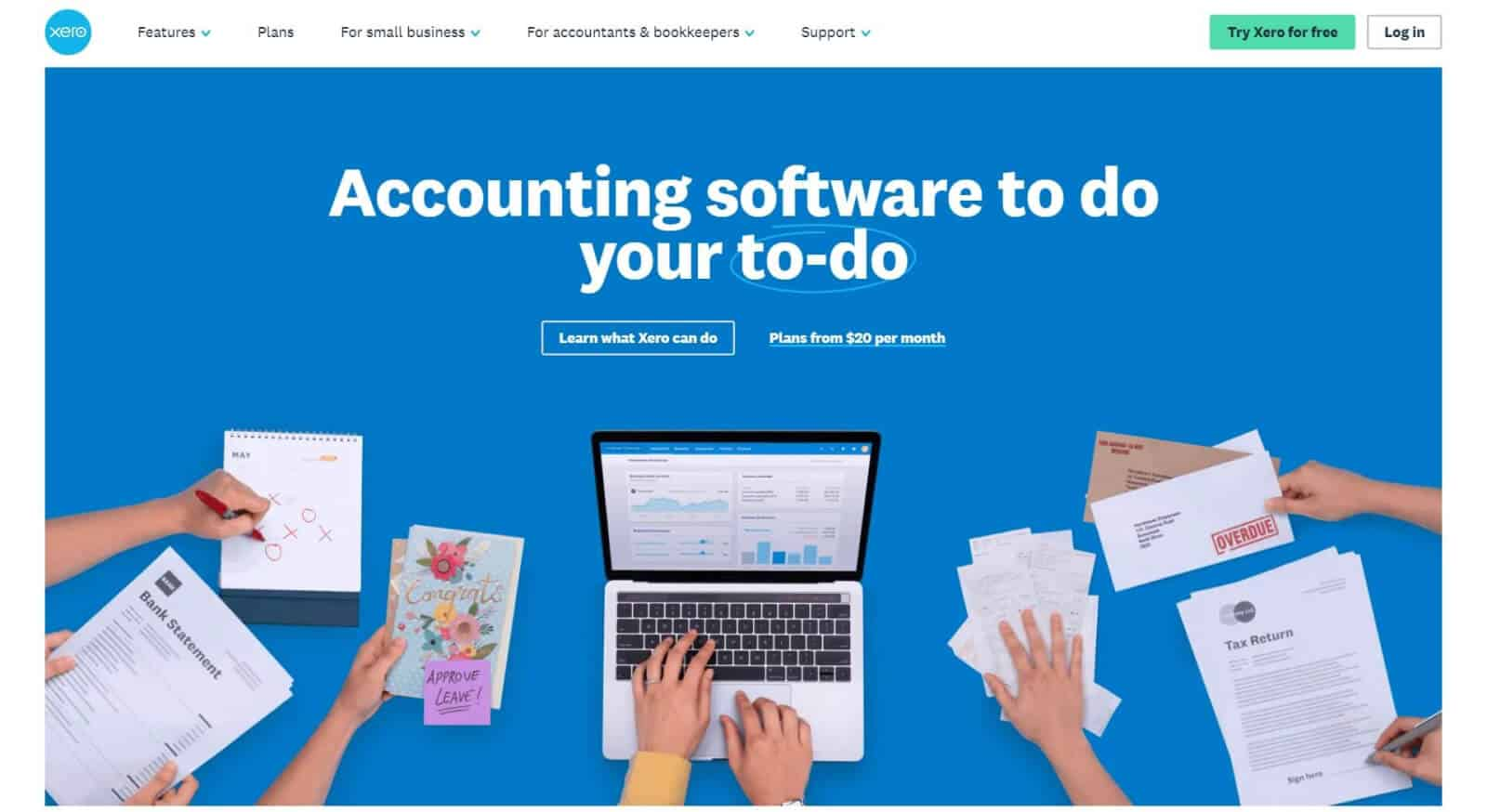 Xero software can work well for both small and medium businesses
