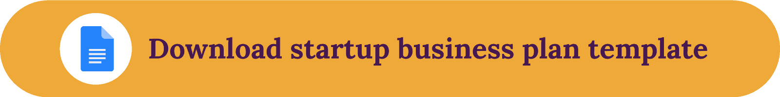 Download startup business plan template button