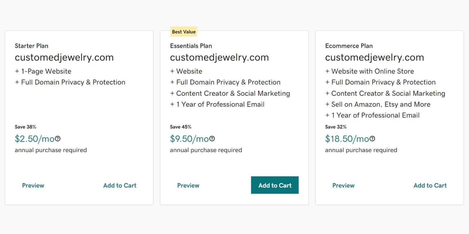 How much does it cost to register a domain