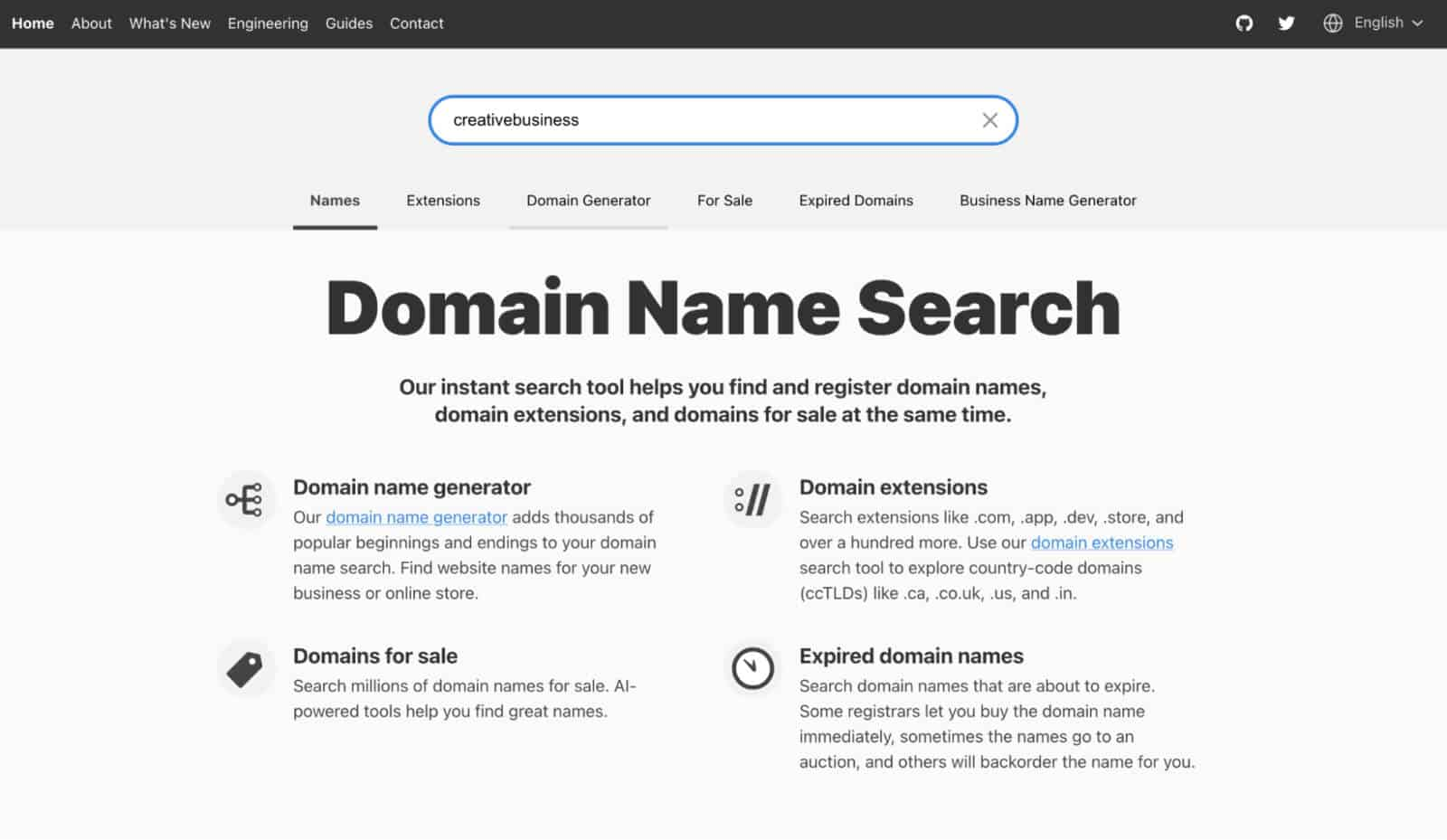 How to come up with a domain name for a small business website