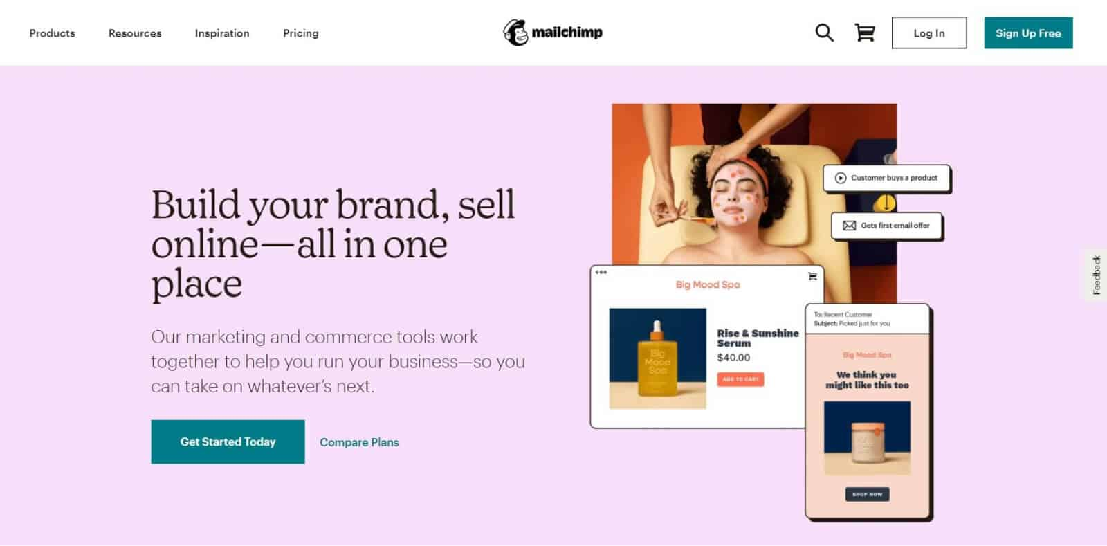Mailchimp is one of the biggest players in the email marketing space