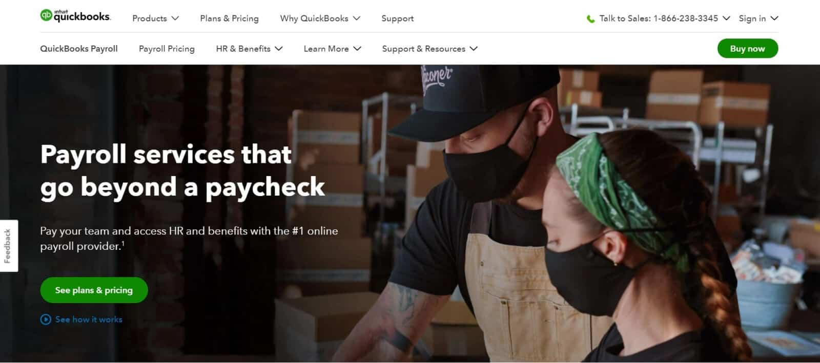 QuickBooks Payroll is the leading payroll management software