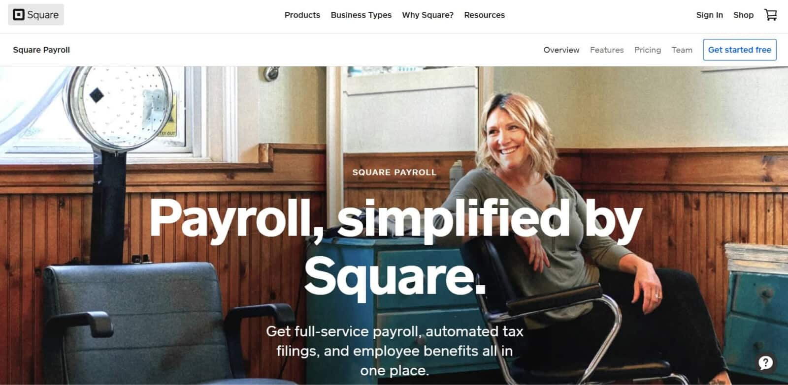 Square Payroll is a payroll management solution offered by Square