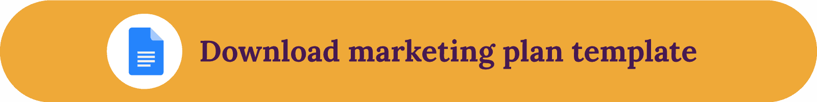 Marketing plan template download button