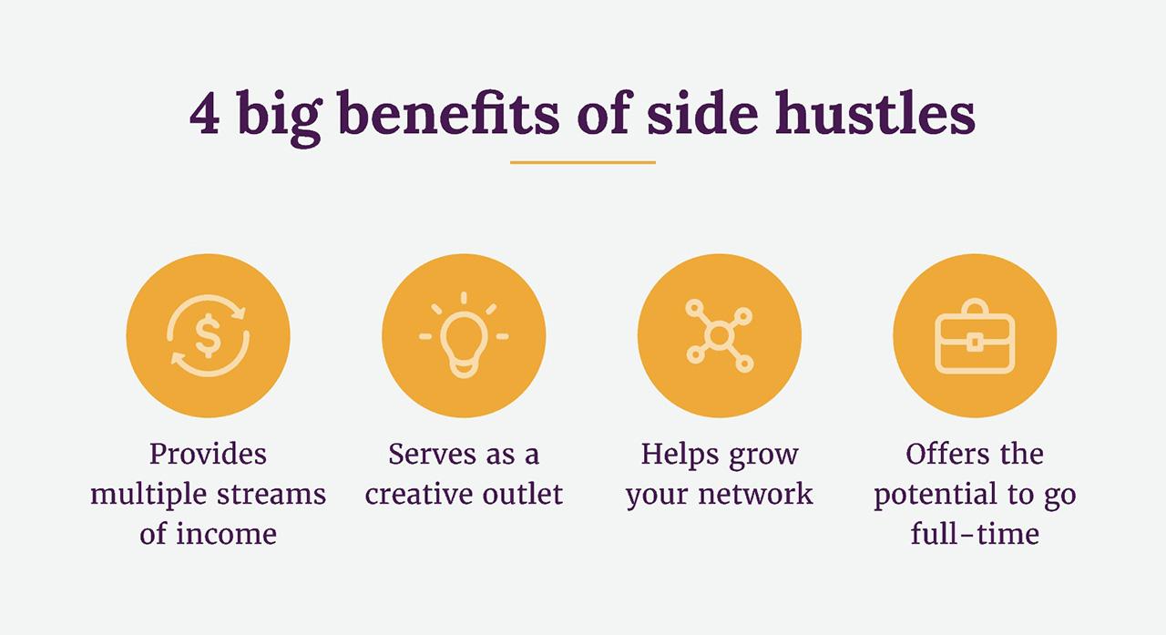 4 benefits of a side hustle
