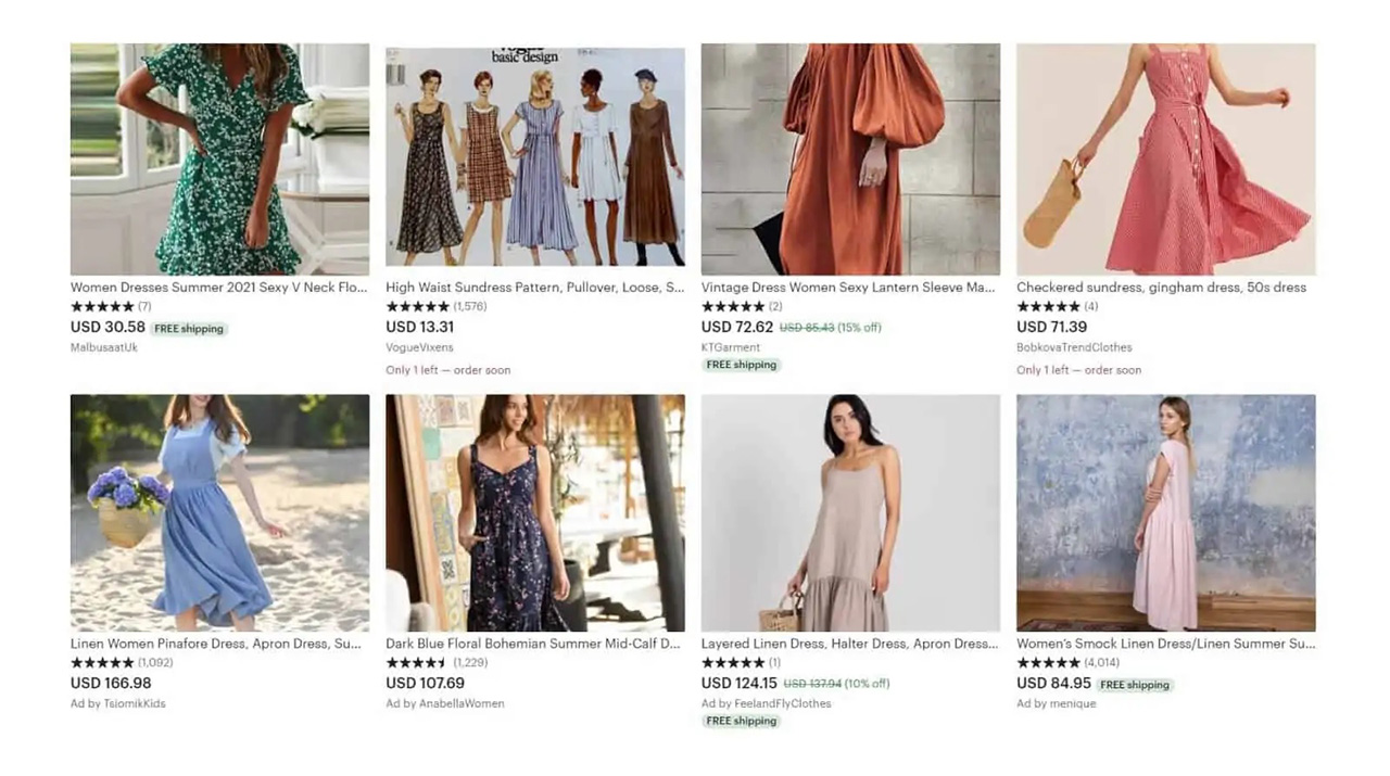 Etsy can be a great place to sell clothes, especially hand-made, organic ones