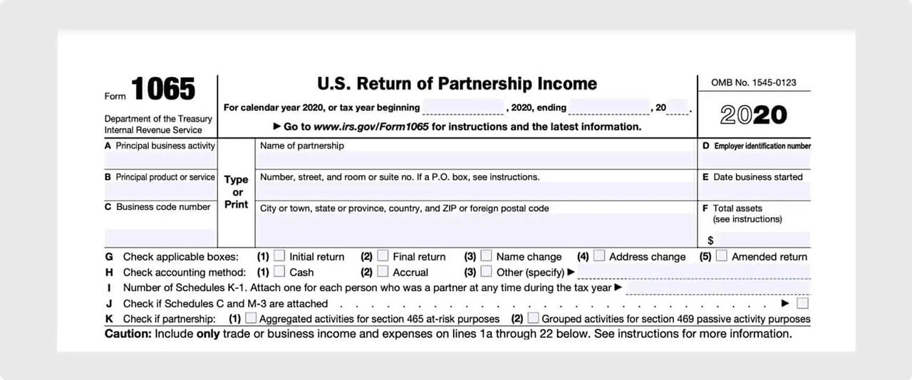 IRS Form 1065